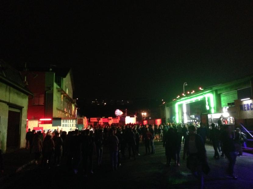 Nuits Sonores Ancien marche de gros